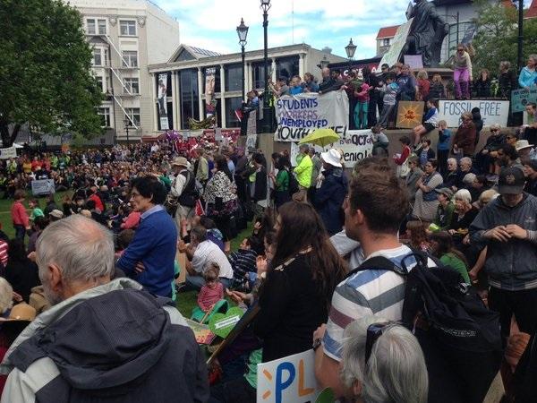 dunedin protest